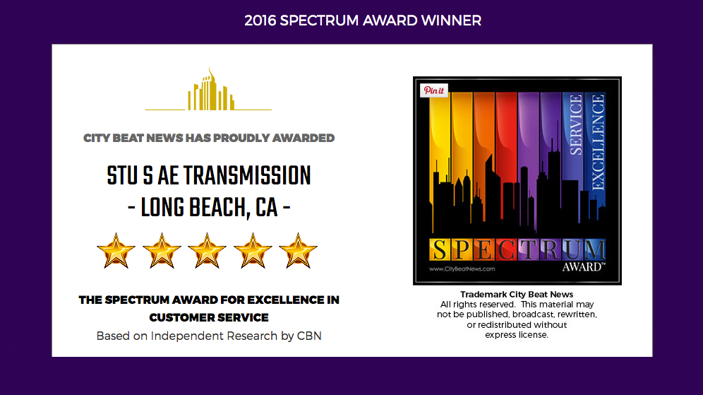 Spectrum Award of Excellence