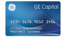 Stu's AE Transmissions Credit Card